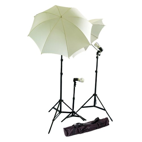 CowboyStudio Photo and Video Studio Umbrella Continuous Lighting Light Kit- 27 feet Stands, 1 Mini Stand and Carry Case by CowboyStudio (Image #9)