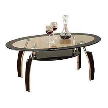 Amazonde Glas Couchtisch Alena Center Schwarz Design Furniture