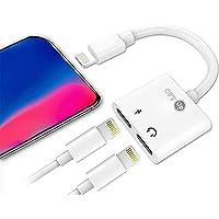 OPTUP - Adaptador Iphone Lightning 2 Em 1 Com Função De Chamada Compatível Com todos Iphones. Carregue seu celular e…