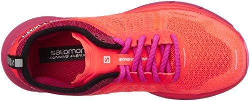 Salomon Sonic Ra Max W, Zapatillas de Trail Running Para Mujer Naranja (Fiery Coral/Cerise./Pink Glo 000)