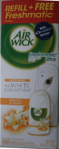 - Airwick Freshmatic Ultra Automatic Spray (White Lily @ Orchard Scent)