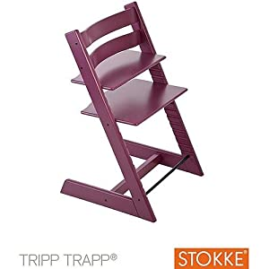 stokke tripp trapp purple baby. Black Bedroom Furniture Sets. Home Design Ideas