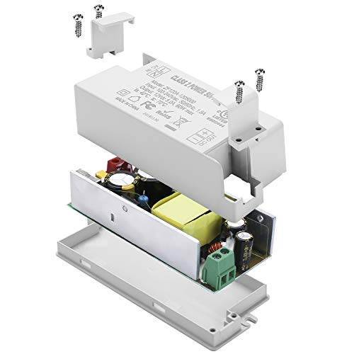 COOLWEST Transformer Driver Power Supply 60W 12V for LED Strip Lights and G4, MR11, MR16 Light Bulbs by COOLWEST (Image #6)