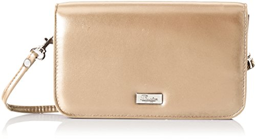 Buxton Women's Crossbody Mini-Bag, Taupe, One Size ()