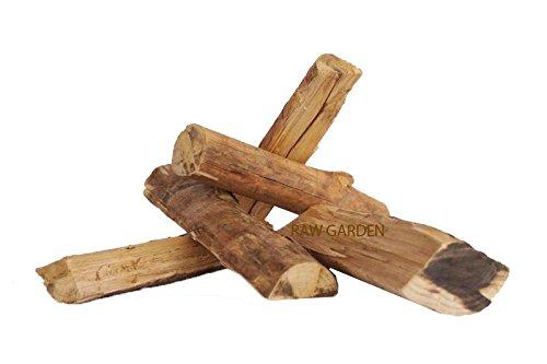 Raw Garden Red Fire (100% Eucalyptus) Big 10 KG Wood Chunks Brazilian Reforested (Non-Smoke Wood)