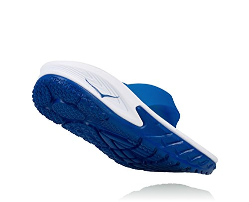 HOKA ONE ONE Mens Ora Recovery Flip White/True Blue wS6Kj