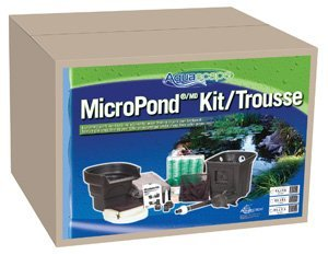 Aquascape MicroPond Kit, 6' x 8'/500 gal (Filter Bio Series Balls)