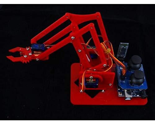 Xligo MeArm Robotic arm Learning kit DIY MeArm.Joystick Educational Desktop Robot arm kit Bluetooth