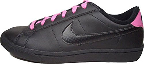 Nike tenis Classic Leather 312809 – 001 negro de color rosa Tamaño Euro 36,5/US 4,5Y/UK 4/23,5 cm