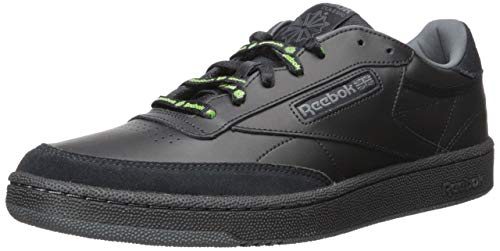 f34730f7ca Reebok Men's Club C 85 Sneaker Black/True Grey/neon Lime 7 ...