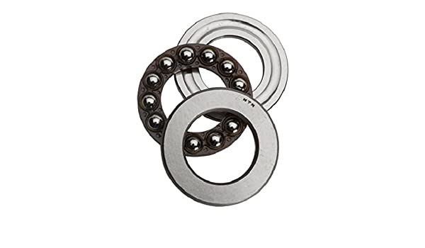 Steel Cage Flat Seat Light Series Open NTN   51207 62 mm OD 35 mm Bore ID Single Direction NTN Bearing 51207 Thrust Ball Bearing 18 mm Width