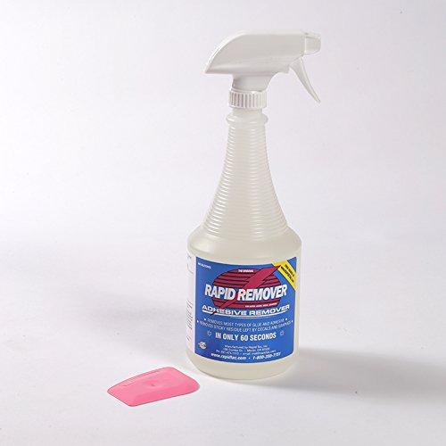 Rapid Remover vinilo Carta Remover 32oz botella con rociador y Chizzler Adhesive Remover para vinilo Wraps Gráficos...