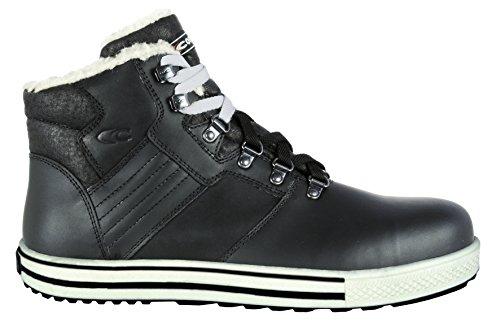 Protección Calzado Para Piel Vuelta Hombre Cofra Negro De E8ZC6qwq