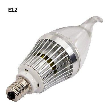 Bombillas vela graduable, color blanco, blanco frío LOHAS, E12, E14, 4