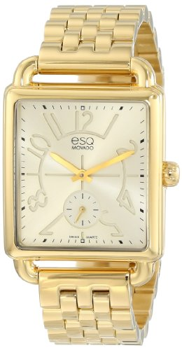 ESQ by Movado Women s 07101408 Origin Yellow-Gold Plated Swiss Quartz Watch
