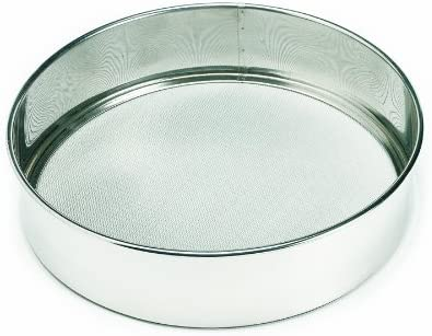 12 New with 16 inches Mesh Sieve 10 Stainless Steel 14 Rim