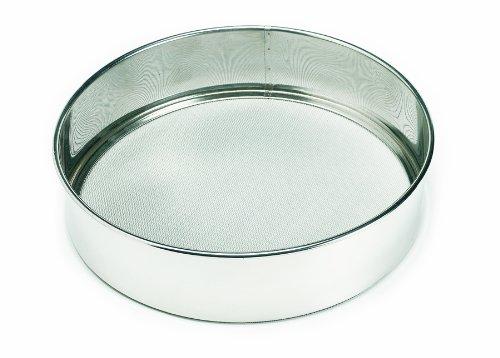 Crestware 14-Inch Stainless Steel Rim Sieves