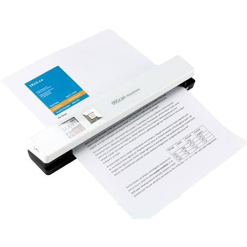 IRIS 458844 can Anywhere Wireless Portable Scanner White