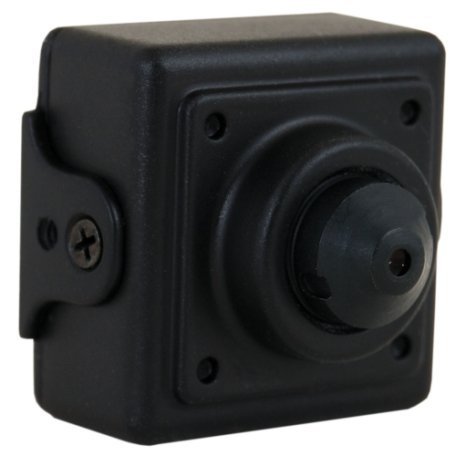 600 TVL 0.0003 Lux Micro Video Pinhole Camera with Micro Lens With Inline BNC Surge (Sony Pinhole Camera)