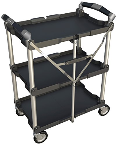 olympia tools collapsible service cart