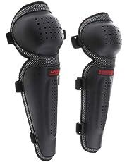 SDENSHI Motorcycle ATV Motocross Elbow Knee Cap Pads Protection Crashproof Shin Guard for Motorbike Mountain Biking Bicycle (Black)