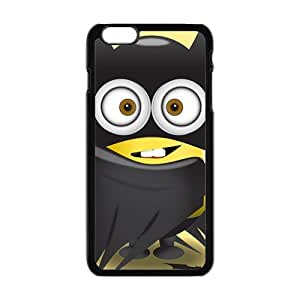 Lovely black cloth Minions Cell Phone Case for iPhone plus 6