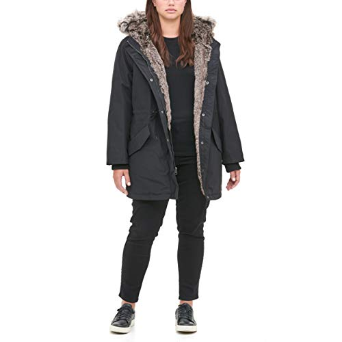 Levi's Women's Faux Fur Lined Hooded Parka Jacket (Standard and Plus Size)