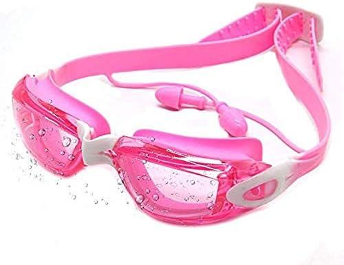أحدث نظارات غطس للأطفال 2019 نظارات سباحة للحماية من الأشعة فوق البنفسجية 400 مضادة للضباب مانعة للتسرب ذات رؤية واسعة مزودة بسدادتين للأذن حافظة واقية للأطفال في سن 3 15 سنة Amazon Ae