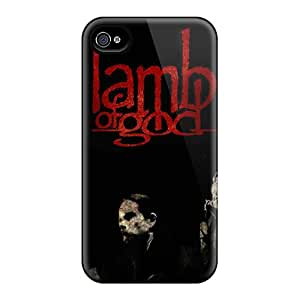 Scratch Protection Hard Cell-phone Case For Iphone 6 With Unique Design Trendy Lamb Of God Skin JohnPrimeauMaurice