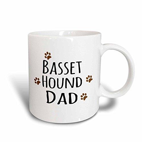 3dRose mug 153855 1 Basset Ceramic 11 Ounce