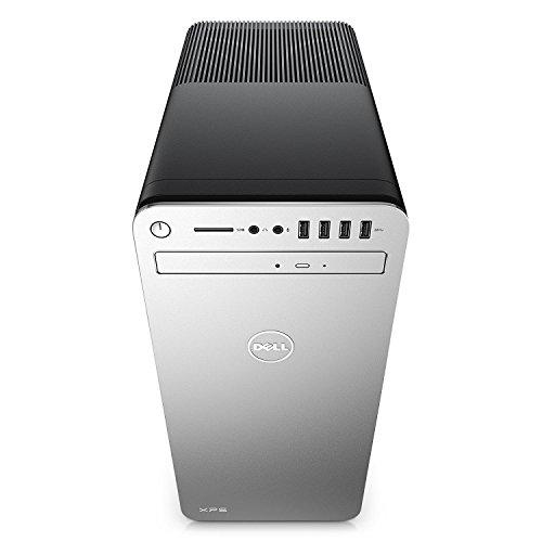Dell XPS 8910 Special Edition Silver Desktop - Intel i7-6700 6th Gen Quad-Core Skylake up to 4.0 GHz, 64GB DDR4 Memory, 512GB SSD + 2TB SATA HDD, 8GB Nvidia GeForce GTX 1070, DVD Burner, Windows 10