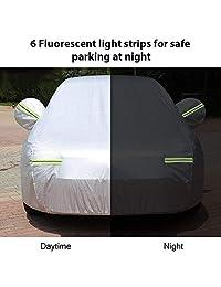 Big Ant   Funda de coche transpirable, impermeable, tamaño completo, ajuste personalizado para Sedan de hasta 190 pulgadas