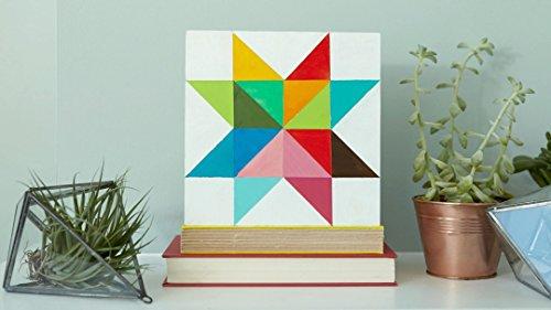 Paint a Geometric Star - Handmade Artist Books