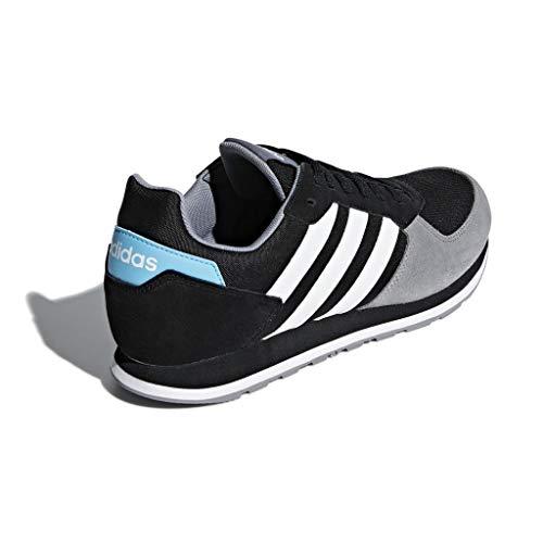 ftwbla 0 Zapatillas 8k Hombre gris Para negbás De Adidas Negro Deporte qvwd5qx8