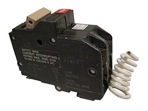 40a 2p Circuit Breaker - CH240GF EATON CUTLER HAMMER CH SERIES GFCI TAN HANDLE 40 AMP, 2 POLE, GFI CIRCUIT BREAKER 2P 40A 10K