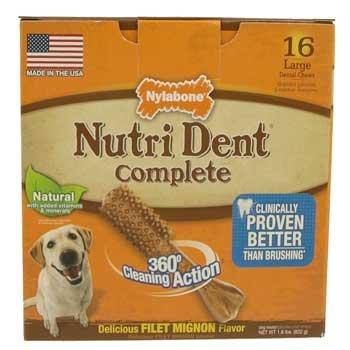 Nylabone Nutri Dent Dog Treat Dental Bones