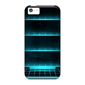 Excellent Iphone 5c Case Tpu Cover Back Skin Protector Neon