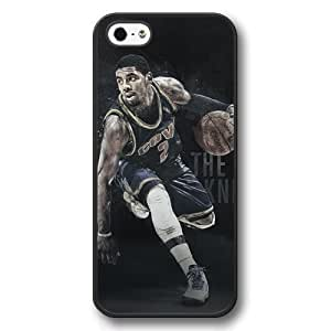 Onelee(TM) - Customized Personalized Black Hard Plastic iPhone 5/5S Case, NBA Superstar Cleveland Cavaliers Kyrie Irving iPhone 5/5S Case, Only Fit iPhone 5/5S Case wangjiang maoyi