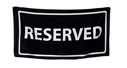 black white reserved cotton velour