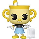 Funko Pop! Games: Cuphead - Ms. Chalice Vinyl Figure (Includes Pop Box Protector Case)