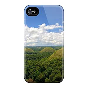 High Grade Running Boy Flexible Tpu Case For Iphone 4/4s - Chocolate Hills by mcsharksby Maris's Diary
