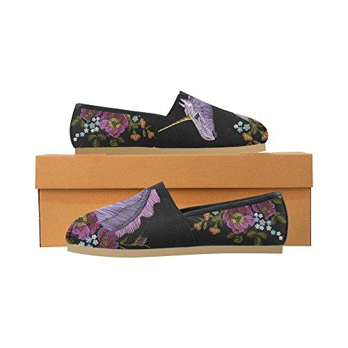 D-story Mode Sneakers Lägenheter Klassisk Slip-on Tygskor Loafers Multicoloured26