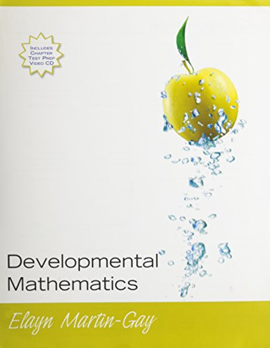 Developmental Mathematics, Books a la Carte Edition