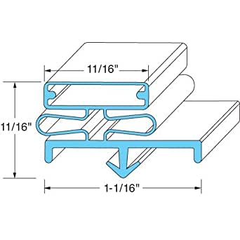 Amazon Com Delfield 1702295 Door Gasket 22 3 4 Quot X 59 1 4