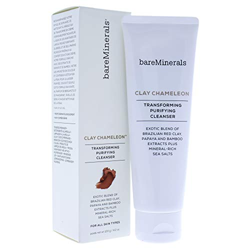 Mineral Face Wash - bareMinerals Clay Chameleon Cleanser, 4.2 Ounce