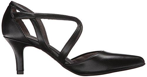 Life Stride Women's Seamless Leather Ankle-High Leather Pump Black NlaC6TiLri