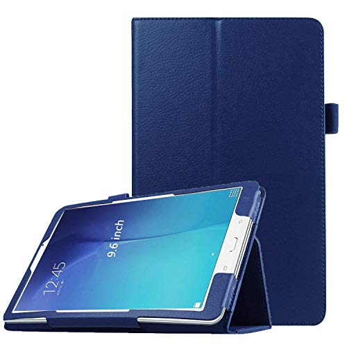 (PEYOU Compatible for Tab E 9.6 Case, Slim Smart Folio Stand Case Cover Compatible for Samsung Galaxy Tab E/Tab E Nook 9.6 inch Tablet SM-T560/T561/T565 & SM-T567V 4G LTE Version, [NOT for TAB E 8.0