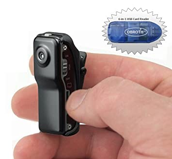 Worlds Smallest High Resolution Mini Video Camcorder: Amazon.co.uk ...