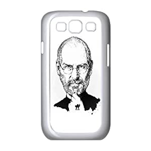 Samsung Galaxy S3 9300 Cell Phone Case White_Steve Jobs Portraits Illustration Oywag