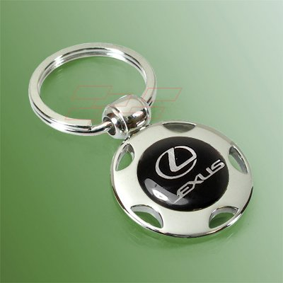 Lexus Wheel Shape Key Chain Official Licensed